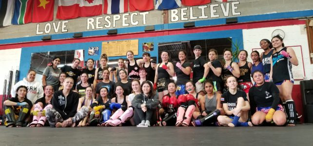 SheSpars and Initiative for Women in Muay Thai