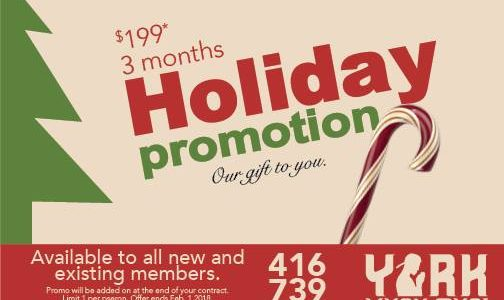 Holiday Promo: 3 Months for $199!!!