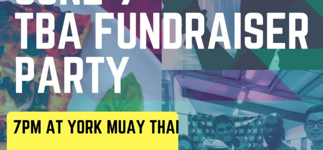 TBA Fundraiser Party- June 9!