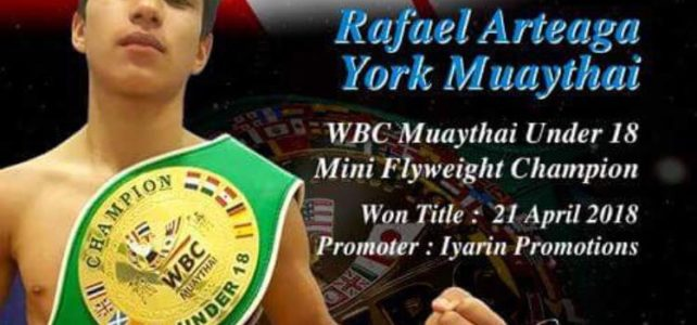 Rafa Added to the WBC Amateur Champions List