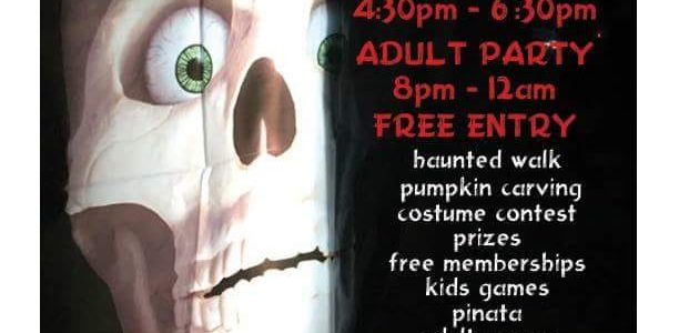 Halloween Party with YMT- October 27!!