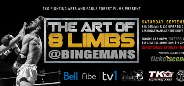 Bryan and Laura fight on Art of 8 Limbs 2, Sept 14!