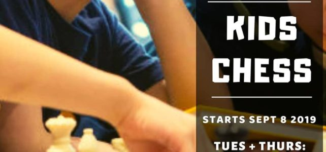 Kids Chess coming to YMT!