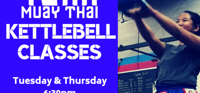 Kettlebell Class Launches March 3! Tues & Thurs at 6:30pm!!