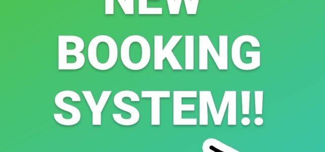 NEW Booking System- MyStudio:  Please RE BOOK
