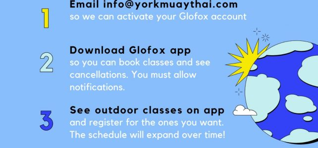 Phase 1 Outdoor Classes starting June 14